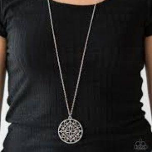 Silver Necklace Set J-140